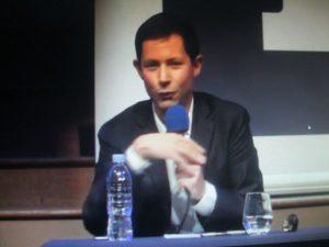 Le philosophe François-Xavier BELLAMY salle Gaveau dernièrement